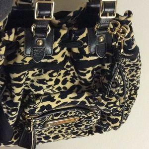 Juicy couture daydream Lepoard print handbag